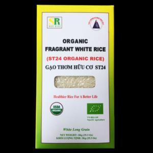 Gạo hữu cơ ST24 hộp 1kg