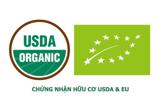 Chứng nhận hữu cơ USDA và EU