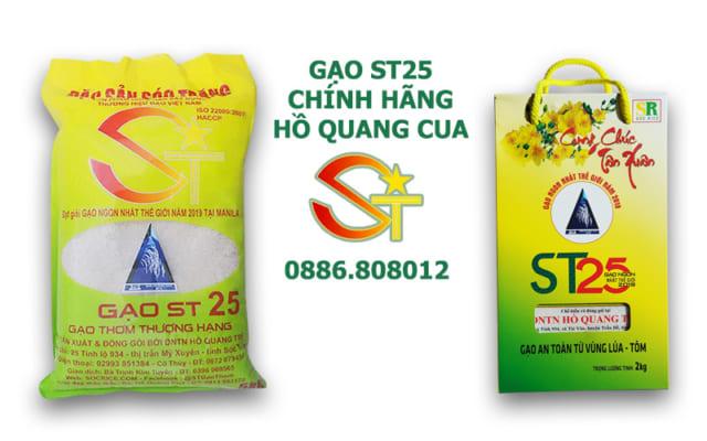 Gạo ST25 giá bao nhiêu?